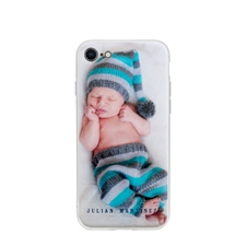 Personalized Photo iPhone 7/8 Case with Clear Liner