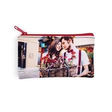 Personalized Photo 4x7 Neoprene Make Up Bag (Same Image)