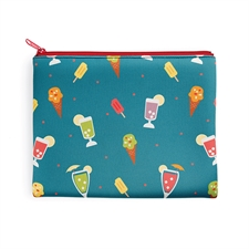 Design Your Own 8x10 Neoprene Cosmetic Bag (Same Image)