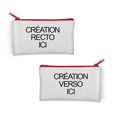 Personalized Photo 4x7 Neoprene Make Up Bag (Different Images)