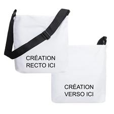 Créez votre propre sac bandoulière, conception recto et verso différente