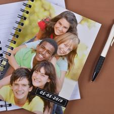 Créez votre propre carnet photo complète noir un titre