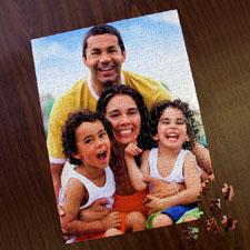 Puzzle photo portrait personnalisé 285 ou 54 pièces 30,48 x 41,91 cm