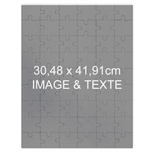 Puzzle photo personnalisé magnétique 285 ou 54 pièces 30,48 x 41,91 cm