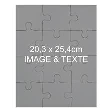 Portrait magnétique 20,32 x 25,4 cm, 12 pièces