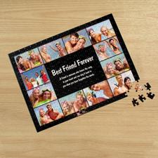 Puzzle photo Facebook noir 12 collage 30,48 x 41,91 cm
