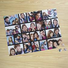 Puzzle photo Facebook noir 20 collage 30,48 x 41,91 cm