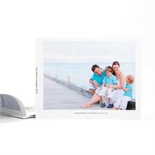 Créez votre petit album photo personnalisé couverture souple 21,59 x 27,94 cm