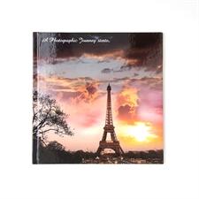 Album photo personnalisé couverture rigide 20,32 x 20,32 cm