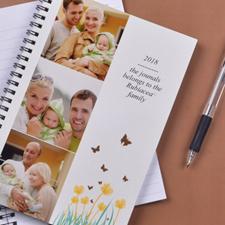 Créez votre propre carnet photo fleurs printanières trois collages