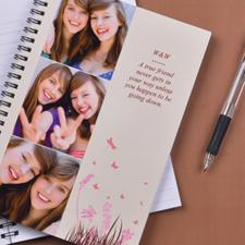 Créez votre propre carnet photo printemps en rose trois collages