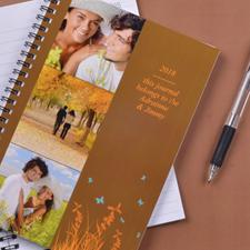 Créez votre propre carnet photo fond d'automne trois collages