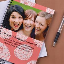Créez votre propre carnet photo fleurs vibrantes