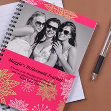 Créez votre carnet photo coin floral