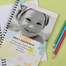 Créez votre carnet photo fleurs rétro