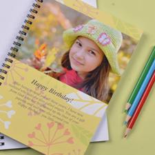 Créez votre propre carnet photo floral d'été