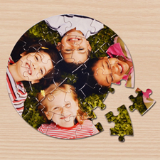 Petits puzzles ronds galerie photo