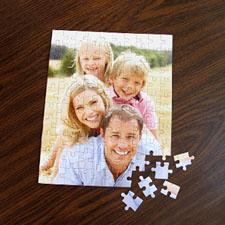 Puzzle portrait photo 12 ou 50 ou 100 pièces