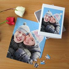 Puzzle portrait amour 12 ou 50 ou 100 pièces