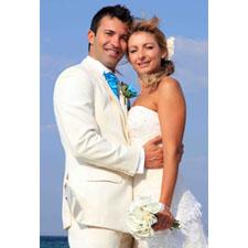 Carte animée photo complète verticale mariage & anniversaire de mariage
