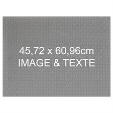 Puzzle photo et message personnalisés 70 ou 252 ou 500 pièces 45,72 x 60,96 cm