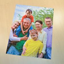 Puzzle photo portrait jumbo 70 ou 252 ou 500 pièces 45,72 x 60,96 cm, boîte personnalisée