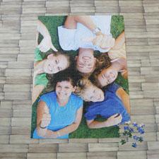 Puzzle photo portrait personnalisé 1000 pièces 50,15 x 71,12 cm