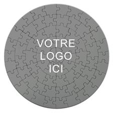 Puzzle rond 18,41 cm impression personnalisée 72 pièces
