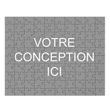 Puzzle Imprimez votre conception 20,32 x 25,4 cm 12 ou 50 ou 100 pièces