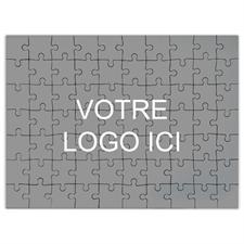 Puzzle corporatif impression personnalisée 70 ou 252 ou 500 pièces, 45,72 x 60,96 cm