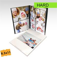Créez votre petit album photo portrait  personnalisé couverture rigide 21,59 x 27,94 cm