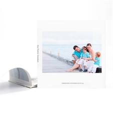 Album photo personnalisé couverture souple 20,32 x 20,32 cm