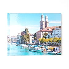 Créez votre album photo personnalisé couverture rigide 17,78 x 22,86 cm