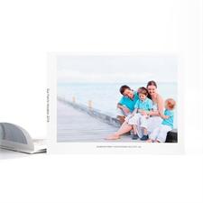 Créez votre album photo personnalisé couverture souple 15,24 x 20,32 cm