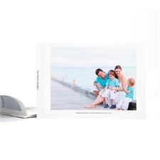 Créez votre album photo personnalisé couverture souple 12,7 x 17,78 cm
