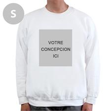 Créez votre propre sweat-shirt blanc photo personnalisée