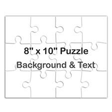 Puzzle message personnalisé portrait 20,32 x 25,4 cm