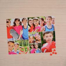 Puzzle photo blanc sept collage 45,72 x 60,96 cm