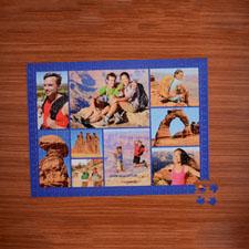 Puzzle photo bleu marine neuf collage 45,72 x 60,96 cm