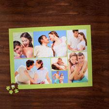 Puzzle photo citron vert sept collage 45,72 x 60,96 cm