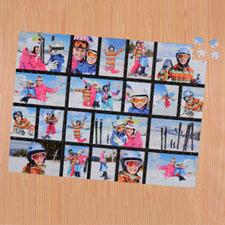 Puzzle photo noir vingt collage  45,72 x 60,96 cm