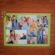 Puzzle personnalisé citron vert  sept collage 1000 pièces 50,16 x 71,12 cm