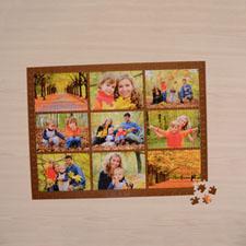 Puzzle personnalisé chocolat neuf collage 1000 pièces 50,16 x 71,12 cm