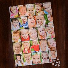 Puzzle personnalisé vingt-cinq collage 1000 pièces 50,16 x 71,12 cm