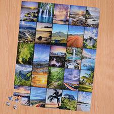 Puzzle photo vingt-cinq collage 45,72 x 60,96 cm