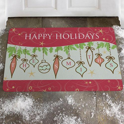 Créez votre propre paillasson saison spectaculaire, joyeuses fêtes