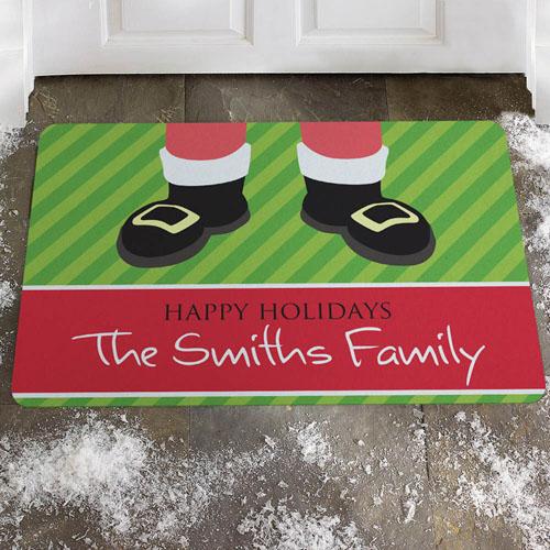 Créez votre propre paillasson Père Noël, joyeuses fêtes