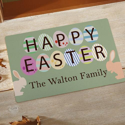 Créez votre propre paillasson joyeuses Pâques