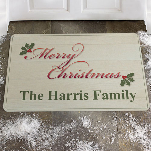 Créez votre propre paillasson joyeux Noël