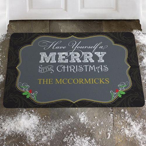 Créez votre propre paillasson joyeux petit Noël